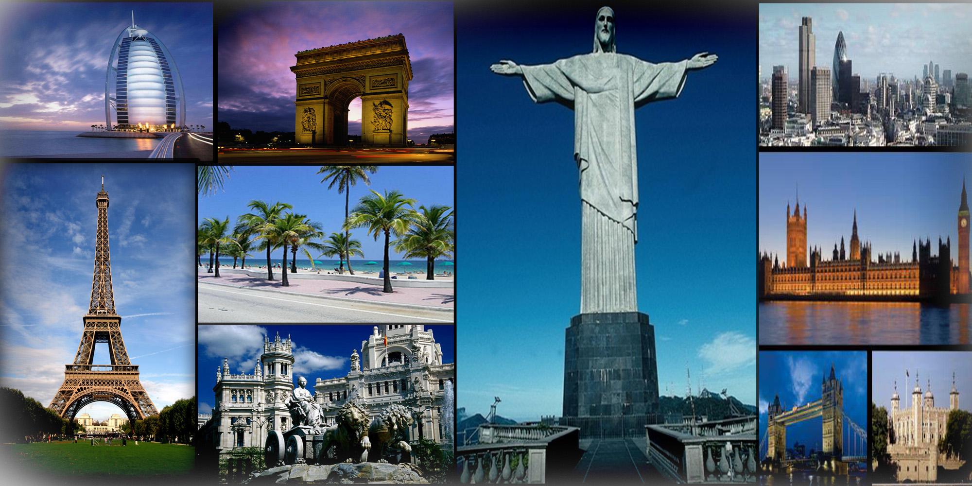 Самые красивые разных стран